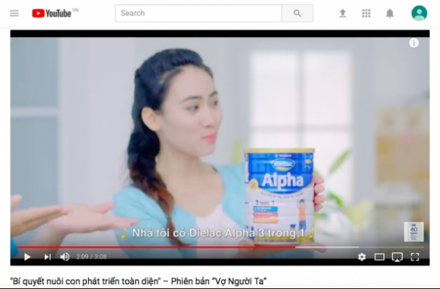 Four Vietnamese ads in YouTube Top 10 in Asia-Pacific