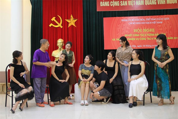 Viet Nam National Drama Theatre, new production, Vietnam economy, Vietnamnet bridge, English news about Vietnam, Vietnam news, news about Vietnam, English news, Vietnamnet news, latest news on Vietnam, Vietnam