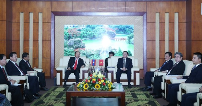 Vietnam, Laos review cooperation in home affairs, Government news, Vietnam breaking news, politic news, vietnamnet bridge, english news, Vietnam news, news Vietnam, vietnamnet news, Vietnam net news, Vietnam latest news, vn news