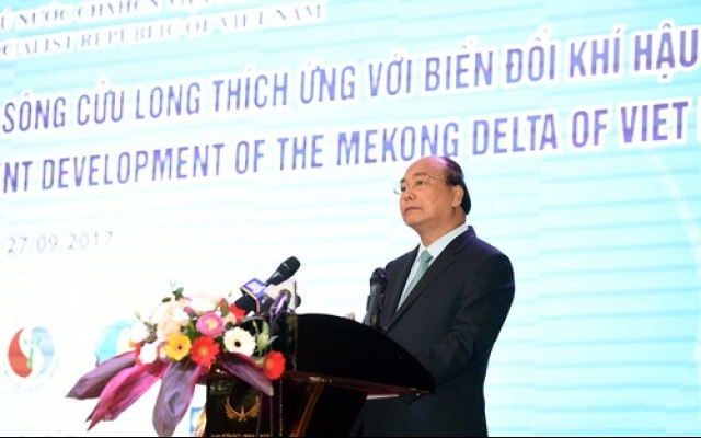 PM pledges $1 billion to tackle climate change in Mekong Delta, Vietnam environment, climate change in Vietnam, Vietnam weather, Vietnam climate, pollution in Vietnam, environmental news, sci-tech news, vietnamnet bridge, english news, Vietnam news, news