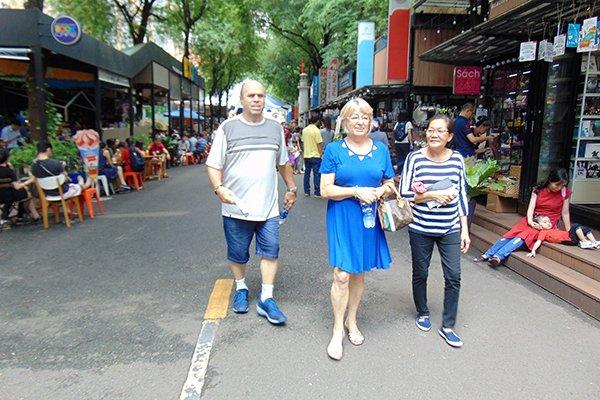 Weekend activities in HCM City