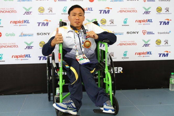 Gaining gold Para Games medal after 10 years of training
