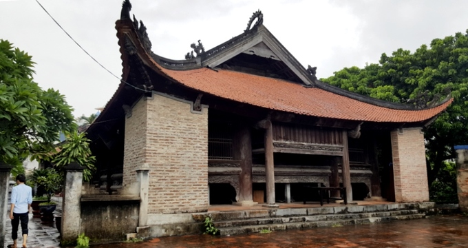 The communal house with 400 dragons in Hai Phong