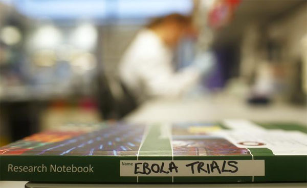 U.S. invests $170 million in late-stage Ebola vaccines, drugs