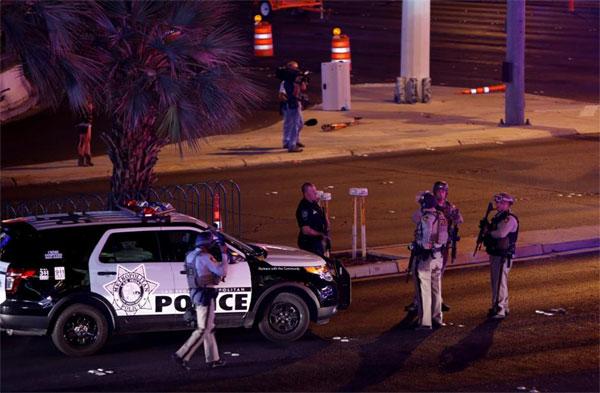 Las Vegas concert, shooting