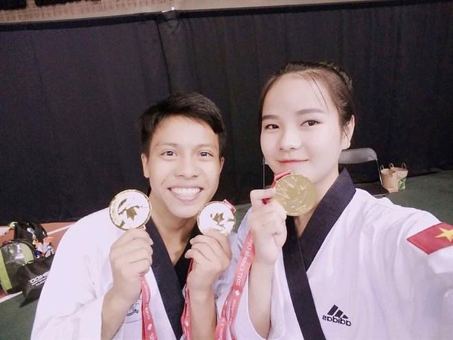 VN taekwondo artists win gold medals at Canada Open, Sports news, football, Vietnam sports, vietnamnet bridge, english news, Vietnam news, news Vietnam, vietnamnet news, Vietnam net news, Vietnam latest news, vn news, Vietnam breaking news