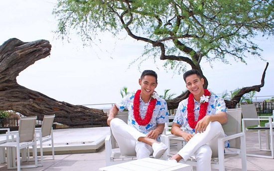 Vietnamese actor hold same-sex wedding with US model, entertainment events, entertainment news, entertainment activities, what's on, Vietnam culture, Vietnam tradition, vn news, Vietnam beauty, news Vietnam, Vietnam news, Vietnam net news, vietnamnet news