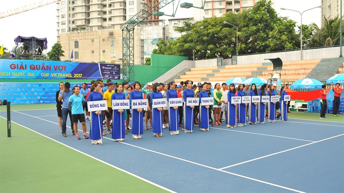 National Tennis Championship begins in HCM City, Sports news, football, Vietnam sports, vietnamnet bridge, english news, Vietnam news, news Vietnam, vietnamnet news, Vietnam net news, Vietnam latest news, vn news, Vietnam breaking news