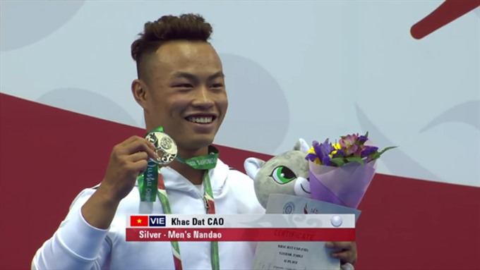 Cao Khac Dat brings home a world wushu silver, Sports news, football, Vietnam sports, vietnamnet bridge, english news, Vietnam news, news Vietnam, vietnamnet news, Vietnam net news, Vietnam latest news, vn news, Vietnam breaking news
