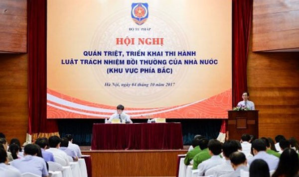 Law to improve civil compensation, 2017 State Compensation Liability law, Vietnam economy, Vietnamnet bridge, English news about Vietnam, Vietnam news, news about Vietnam, English news, Vietnamnet news, latest news on Vietnam, Vietnam