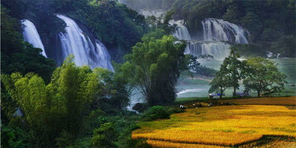 Cao Bang, Ban Gioc Waterfall Tourism Complex, waterfall festival, Vietnam economy, Vietnamnet bridge, English news about Vietnam, Vietnam news, news about Vietnam, English news, Vietnamnet news, latest news on Vietnam, Vietnam