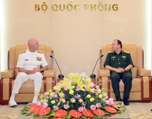 Potential for Vietnam-US defence cooperation: US Admiral, Government news, Vietnam breaking news, politic news, vietnamnet bridge, english news, Vietnam news, news Vietnam, vietnamnet news, Vietnam net news, Vietnam latest news, vn news