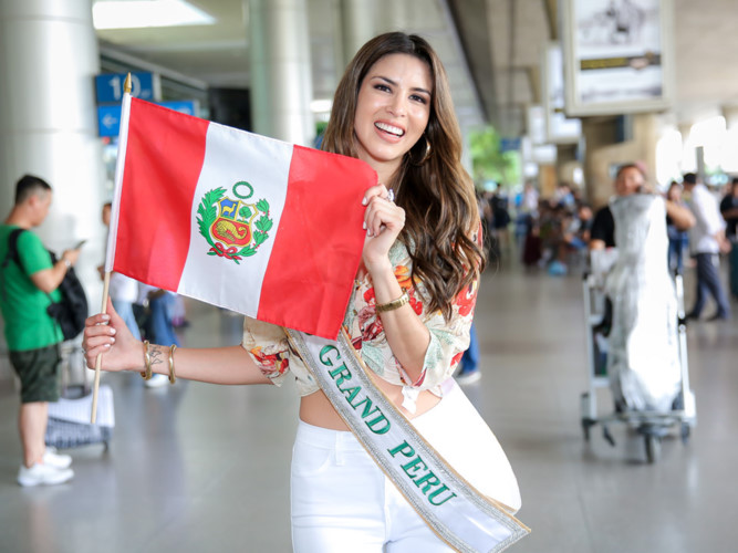 Vietnam welcomes first Miss Grand International 2017 contestants, entertainment events, entertainment news, entertainment activities, what's on, Vietnam culture, Vietnam tradition, vn news, Vietnam beauty, news Vietnam, Vietnam news, Vietnam net news,