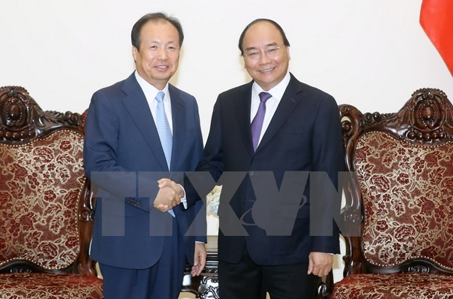 PM pledges optimal conditions for Samsung, Government news, Vietnam breaking news, politic news, vietnamnet bridge, english news, Vietnam news, news Vietnam, vietnamnet news, Vietnam net news, Vietnam latest news, vn news
