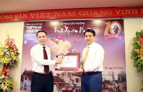 Bui Xuan Phai – For the Love of Hanoi Award, entertainment events, entertainment news, entertainment activities, what's on, Vietnam culture, Vietnam tradition, vn news, Vietnam beauty, news Vietnam, Vietnam news, Vietnam net news, vietnamnet news, vietnam
