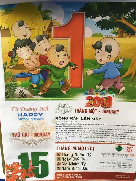 Lich Xuan 2018, block calendars, Vietnam economy, Vietnamnet bridge, English news about Vietnam, Vietnam news, news about Vietnam, English news, Vietnamnet news, latest news on Vietnam, Vietnam