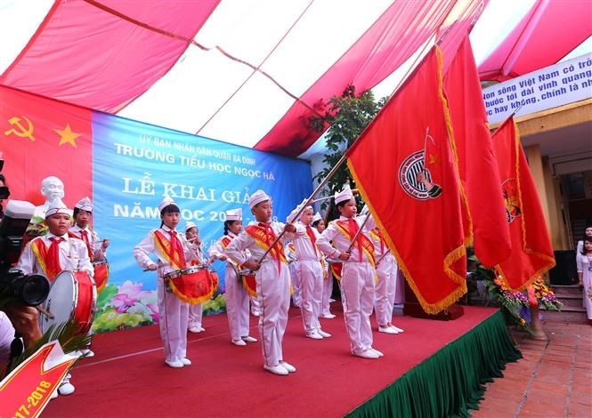 Vietnamese pupils ring in new school year, Vietnam education, Vietnam higher education, Vietnam vocational training, Vietnam students, Vietnam children, Vietnam education reform, vietnamnet bridge, english news, Vietnam news, news Vietnam, vietnamnet news