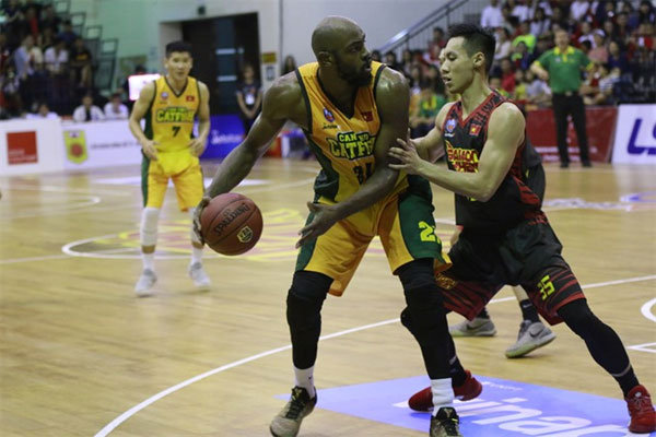 Danang Dragons beat HCM City Wings at VN Basketball League