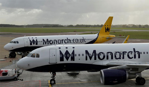 Boeing, finance bailout, Monarch Airlines