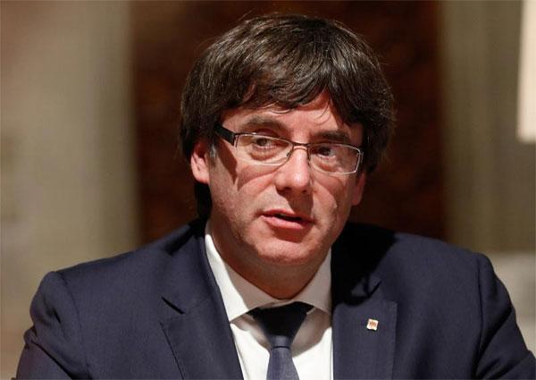 Catalan leader, pressure, drop independence