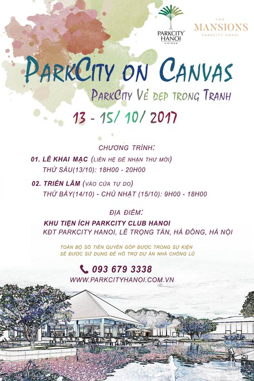 Art exhibition in Hanoi to raise funds for flood victims, entertainment events, entertainment news, entertainment activities, what's on, Vietnam culture, Vietnam tradition, vn news, Vietnam beauty, news Vietnam, Vietnam news, Vietnam net news, vietnamnet