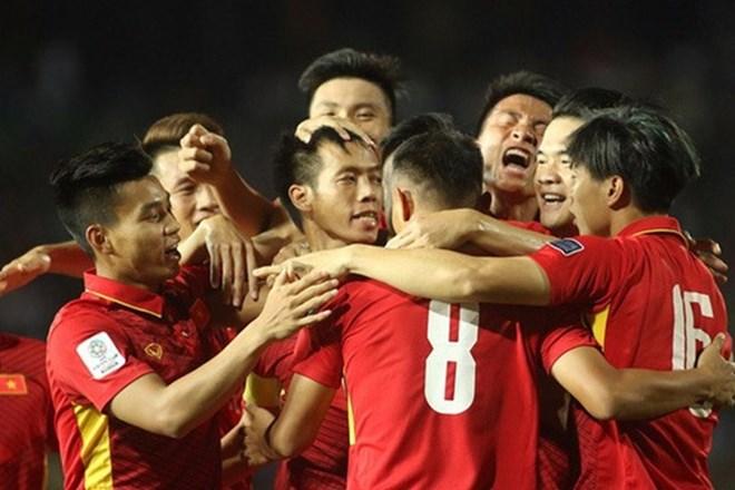 Asian Cup 2019: Vietnam trounces Cambodia 5-0, Sports news, football, Vietnam sports, vietnamnet bridge, english news, Vietnam news, news Vietnam, vietnamnet news, Vietnam net news, Vietnam latest news, vn news, Vietnam breaking news
