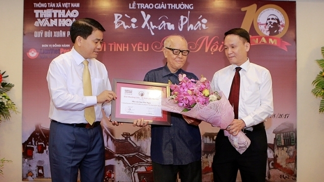 Life-long love for Hanoi, entertainment events, entertainment news, entertainment activities, what's on, Vietnam culture, Vietnam tradition, vn news, Vietnam beauty, news Vietnam, Vietnam news, Vietnam net news, vietnamnet news, vietnamnet bridge
