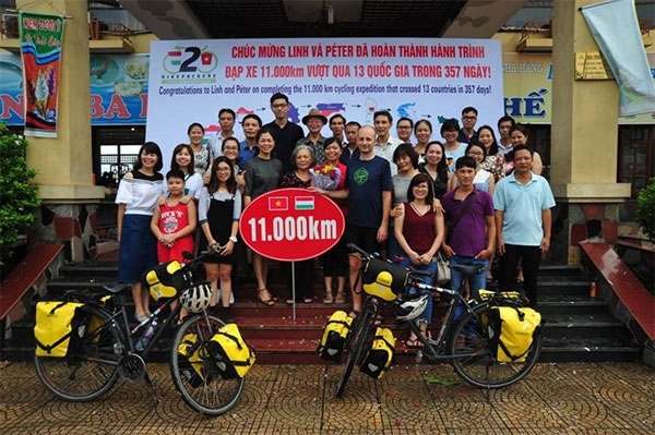 A year-long cycling trip, foreign exchange student, honeymoon, Vietnam economy, Vietnamnet bridge, English news about Vietnam, Vietnam news, news about Vietnam, English news, Vietnamnet news, latest news on Vietnam, Vietnam