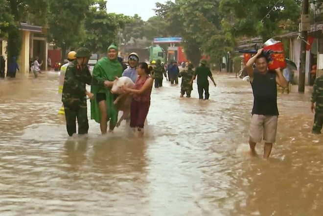 Flood death toll reaches 29 in northern, central Vietnam, social news, vietnamnet bridge, english news, Vietnam news, news Vietnam, vietnamnet news, Vietnam net news, Vietnam latest news, vn news, Vietnam breaking news