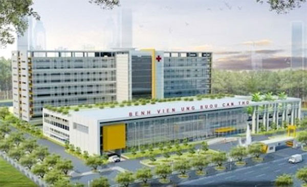 Can Tho builds 500-bed oncology hospital for the Mekong Delta