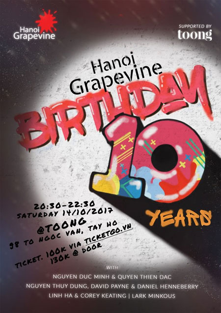 Grapevine, birthday concert, Vietnam economy, Vietnamnet bridge, English news about Vietnam, Vietnam news, news about Vietnam, English news, Vietnamnet news, latest news on Vietnam, Vietnam