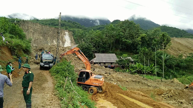 Nine dead following Hoa Binh landslide, social news, vietnamnet bridge, english news, Vietnam news, news Vietnam, vietnamnet news, Vietnam net news, Vietnam latest news, vn news, Vietnam breaking news