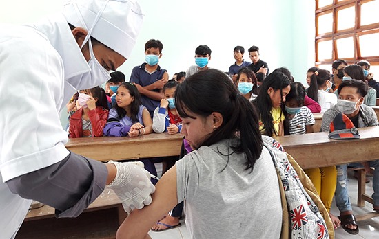 A child dies, 6 other students putrescent with diphtheria in Quang Nam, amicable news, vietnamnet bridge, english news, Vietnam news, news Vietnam, vietnamnet news, Vietnam net news, Vietnam latest news, vn news, Vietnam violation news