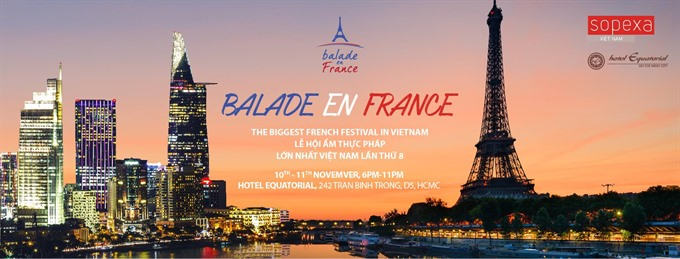 One Month in France culinary event in HCM City, Hanoi