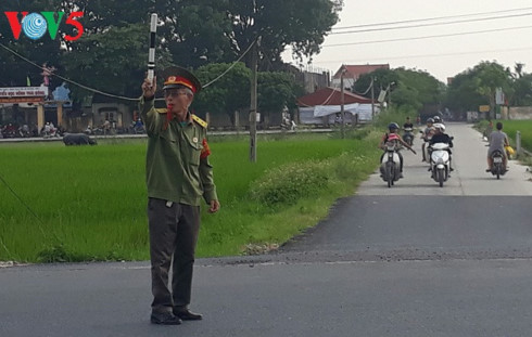 War veteran helps keep children safer on road, social news, vietnamnet bridge, english news, Vietnam news, news Vietnam, vietnamnet news, Vietnam net news, Vietnam latest news, vn news, Vietnam breaking news