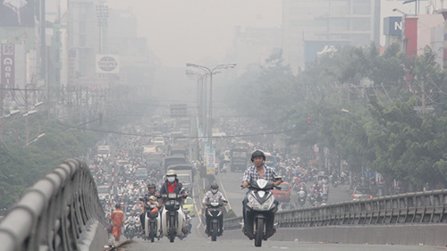 Hanoi's air pollution ranks second in the world