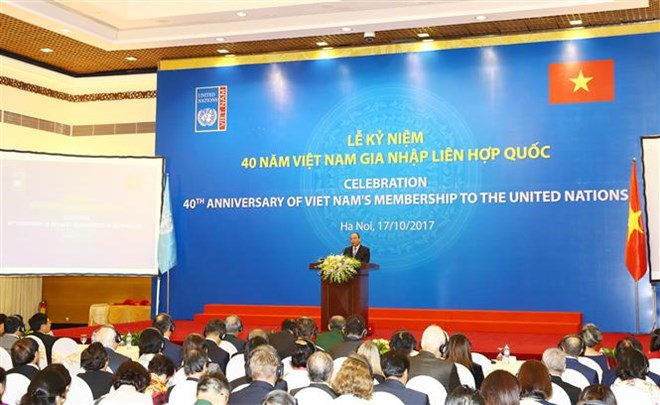 PM affirms Vietnam's foreign policy of stronger cooperation with UN, Government news, Vietnam breaking news, politic news, vietnamnet bridge, english news, Vietnam news, news Vietnam, vietnamnet news, Vietnam net news, Vietnam latest news, vn news