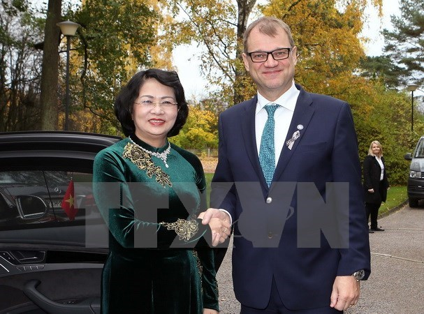 Finnish PM affirms wish to boost multi-dimensional ties with Vietnam, Government news, Vietnam breaking news, politic news, vietnamnet bridge, english news, Vietnam news, news Vietnam, vietnamnet news, Vietnam net news, Vietnam latest news, vn news