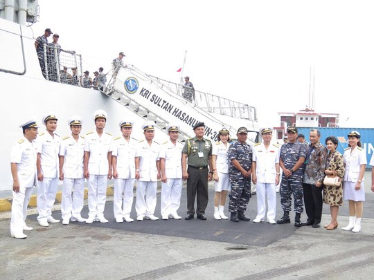Indonesian naval ships visit HCM City, Government news, Vietnam breaking news, politic news, vietnamnet bridge, english news, Vietnam news, news Vietnam, vietnamnet news, Vietnam net news, Vietnam latest news, vn news