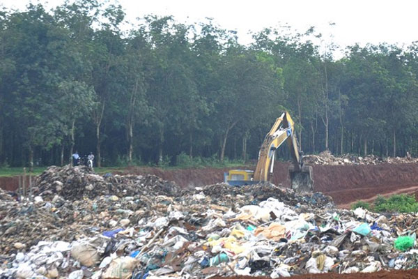 Thien Phuoc Waste Treatment Plant, violate environmental regulations, hefty fines, Vietnam economy, Vietnamnet bridge, English news about Vietnam, Vietnam news, news about Vietnam, English news, Vietnamnet news, latest news on Vietnam, Vietnam