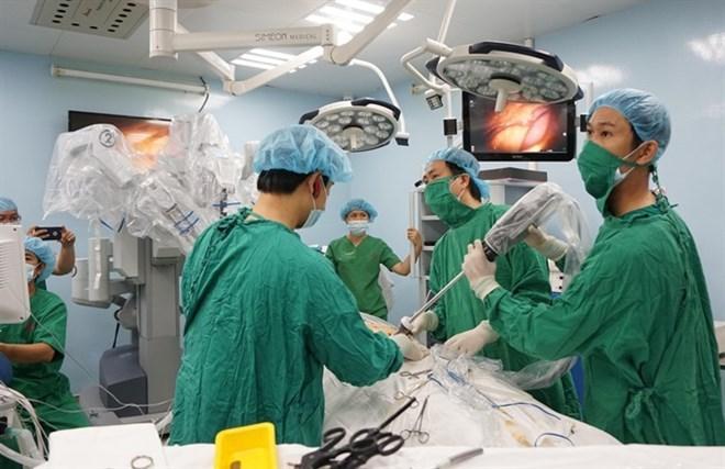 Robotic surgeries save 222 cancer patients, social news, vietnamnet bridge, english news, Vietnam news, news Vietnam, vietnamnet news, Vietnam net news, Vietnam latest news, vn news, Vietnam breaking news