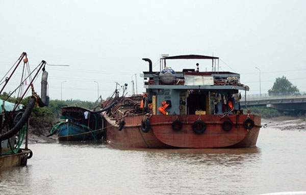 Can Gio sea, illegal sand mining, Vietnam economy, Vietnamnet bridge, English news about Vietnam, Vietnam news, news about Vietnam, English news, Vietnamnet news, latest news on Vietnam, Vietnam