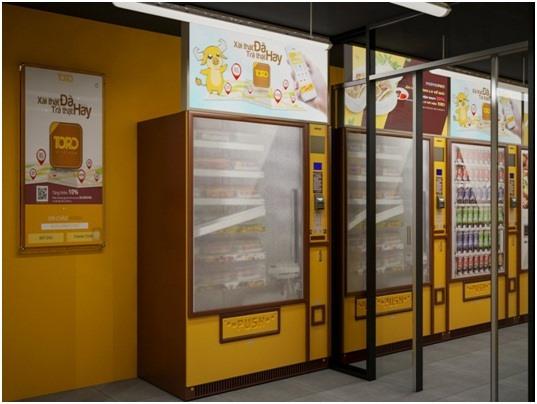 Toro vending machine launched in VN, vietnam economy, business news, vn news, vietnamnet bridge, english news, Vietnam news, news Vietnam, vietnamnet news, vn news, Vietnam net news, Vietnam latest news, Vietnam breaking news