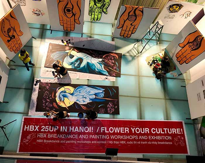 "Exhibition ""Flower Your Culture Art"" in Hanoi, entertainment events, entertainment news, entertainment activities, what's on, Vietnam culture, Vietnam tradition, vn news, Vietnam beauty, news Vietnam, Vietnam news, Vietnam net news, vietnamnet news, viet"