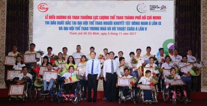 HCM City honours outstanding athletes, Sports news, football, Vietnam sports, vietnamnet bridge, english news, Vietnam news, news Vietnam, vietnamnet news, Vietnam net news, Vietnam latest news, vn news, Vietnam breaking news
