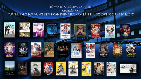 Week of free movie screenings to mark the 20th Vietnam Film Festival, entertainment events, entertainment news, entertainment activities, what's on, Vietnam culture, Vietnam tradition, vn news, Vietnam beauty, news Vietnam, Vietnam news, Vietnam net news,