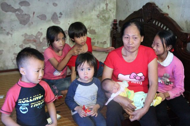 29-year-old mother with 8 children in quoc oai, hanoi, social news, vietnamnet bridge, english news, Vietnam news, news Vietnam, vietnamnet news, Vietnam net news, Vietnam latest news, vn news, Vietnam breaking news