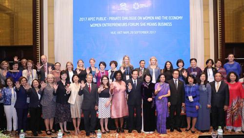 APEC 2017 enhances economic power of women