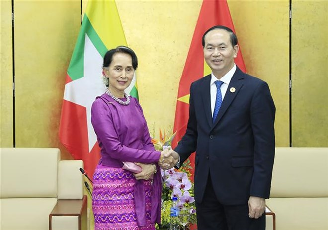 President Tran Dai Quang receives APEC guests, Government news, Vietnam breaking news, politic news, vietnamnet bridge, english news, Vietnam news, news Vietnam, vietnamnet news, Vietnam net news, Vietnam latest news, vn news