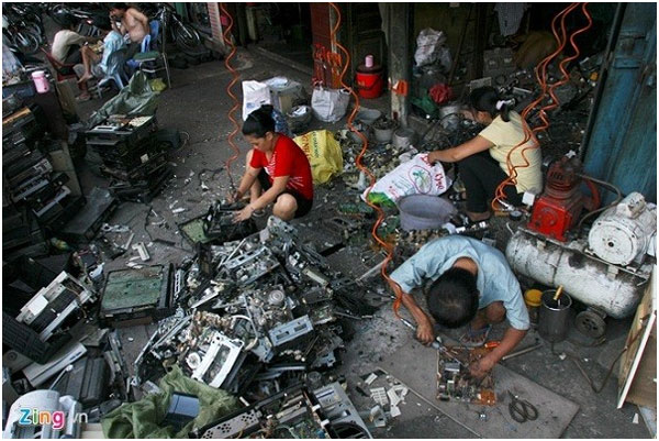 E-waste, modern recycling technology, invest, Vietnam economy, Vietnamnet bridge, English news about Vietnam, Vietnam news, news about Vietnam, English news, Vietnamnet news, latest news on Vietnam, Vietnam